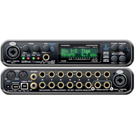 MOTU Ultralite MK3 Hybrid, Traveler, 8Pre, 828x, Audio Express