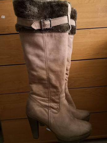 Kozaki buty skórzane Lasocki