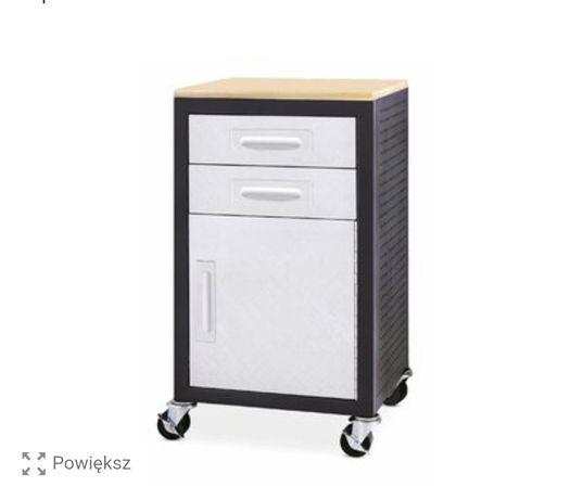 Szafka narzędziowa warsztatowa wózek warsztatowy stalowy z blatem