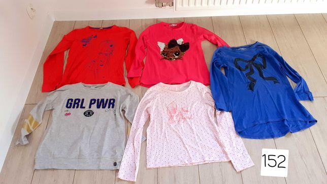 Bluzki dla dziewczynki 152