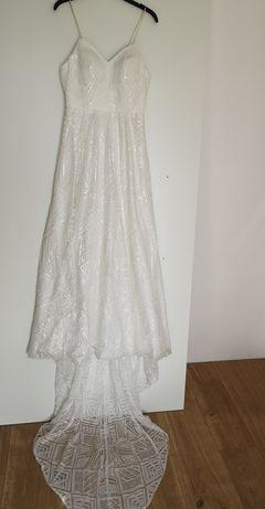 Suknia ślubna własnego projektu, niepowtarzalna