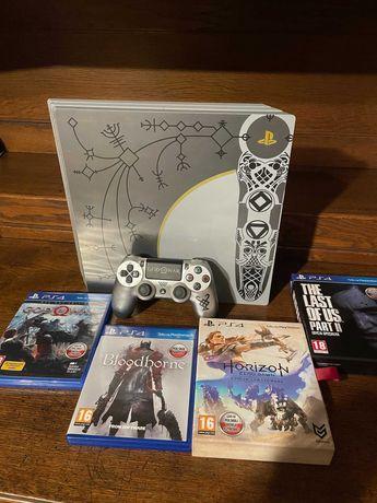 Konsola PlayStation 4 PRO Edycja limitowana God of War!  Tanio + Gry!