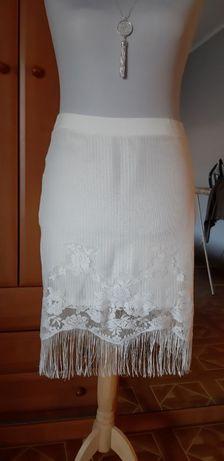 Spódnica xxl z frędzlami