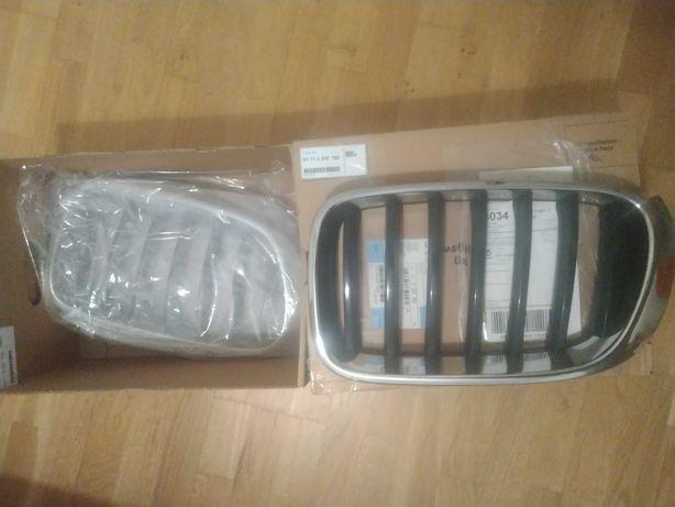 Grill frąt gril atrapa BMW X3  (nerki) orginalne X4