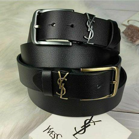 Ремень кожаный ремень класический пояс ремни ремень Yvessaint Laurent