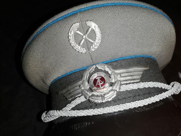 7. Czapka pilota, wojskowa, wojenna