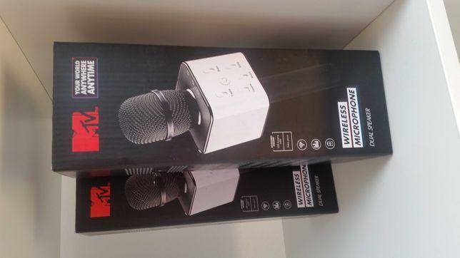 Mikrofon MTV dual speaker plus sound mixer