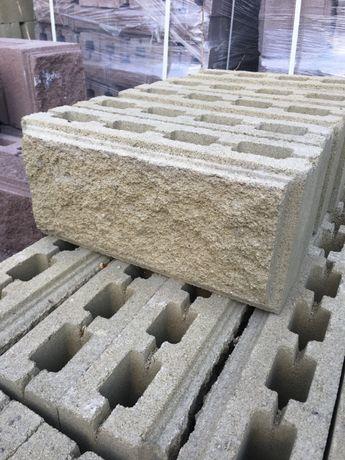 Блок Декоративный бетонный (производство)