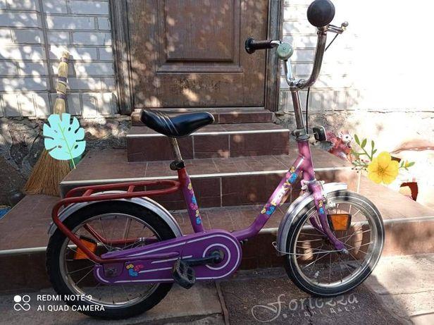 Велосипед на 6-9 років для дівчинки