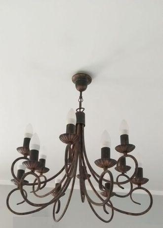 Żyrandol - Lampa stojąca - Kinkiety