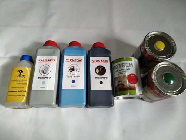 Краска разных цветов для С/г техники МТЗ, John Deere, CASE CLAAS