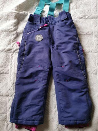 Spodnie narciarskie dla dziewczynki, rozmiar 92 cm, Cool Club