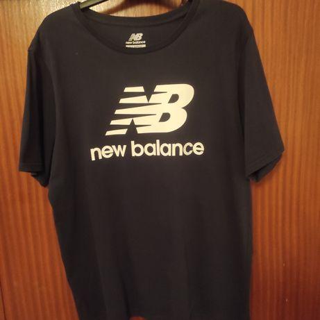 Tshirt New Balance tamanho XL Azul Escura