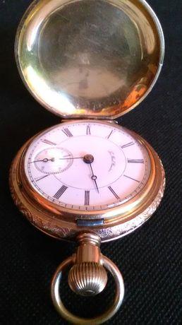 Złoto zegarek kieszonkowy Philadelphia USA stan Super!!