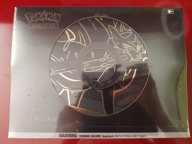 Pokémon Zacian coleção