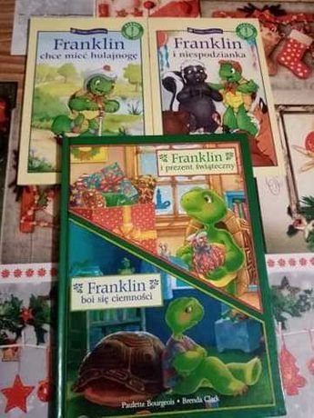 """Zestaw książek dla dzieci """"Franklin i przyjaciele"""""""