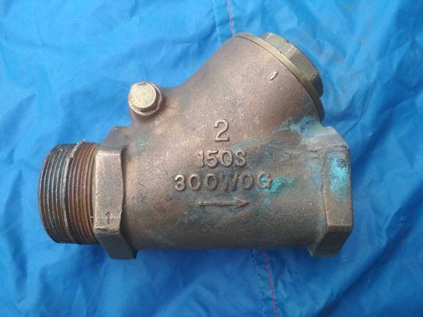 Обратный клапан из бронзы