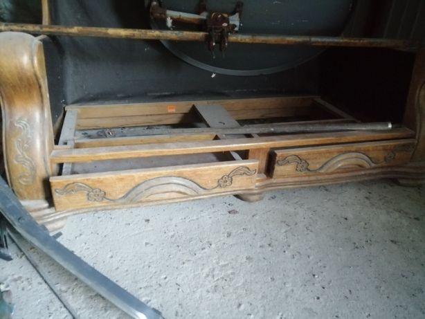 Kanapa dębowa fotel i dwuosobowa