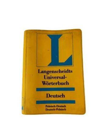 Langenscheidts Universal - Wörterbuch Deutsch słownik kieszonkowy