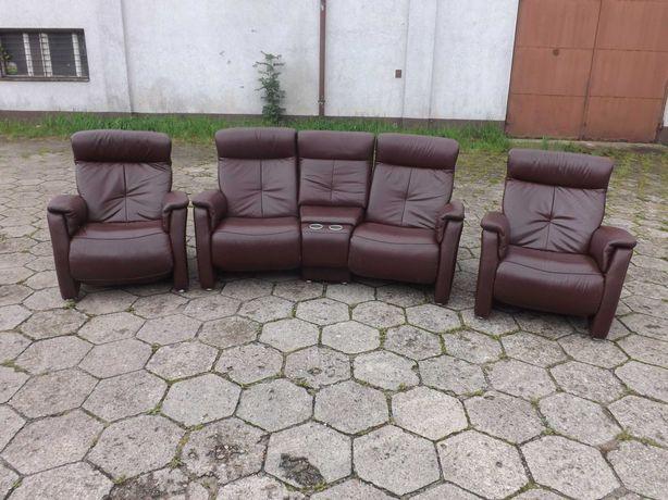 Kino domowe sofa i 2 fotele