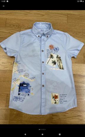 Рубашка пиджак mayoral chicco zara benetton