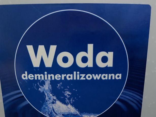 Woda demoneralizowana akwarium