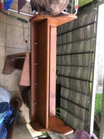 Półka drewno sosnowe x2