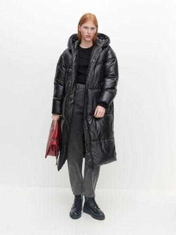 Пуховик пальто oversize reserved