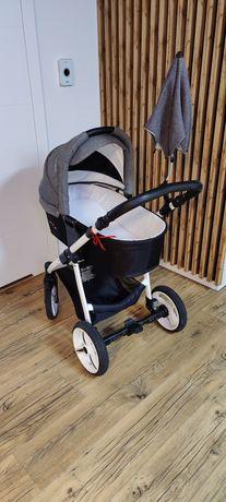 Wózek dziecięcy Bebetto Nico Plus 3 w 1 Gondola, spacerówka, fotelik