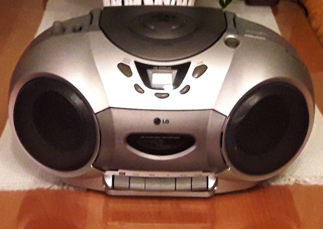 Radiomagnetofon LG CD-3230AX boombox radio na kasety PRL
