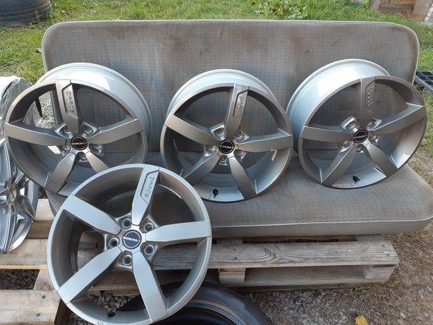 Диски R17 5 114,3 Borbet T1 7X17 ET48 5X114,3 Metal Grey