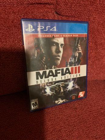 Игра диск PS4 Mafia 3 Deluxe Edition БЕЗ ПРЕДОПЛАТЫ Мафия III