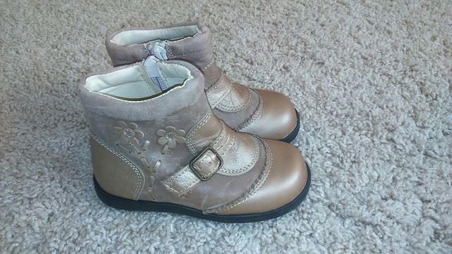 Шкіряні чобітки з Іспанії