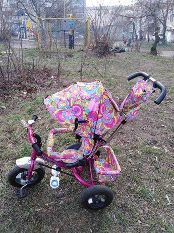 Продам дитячий велосипед-возик