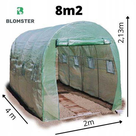 Tunel Foliowy Ogrodowy Szklarnia Foliak 4x2