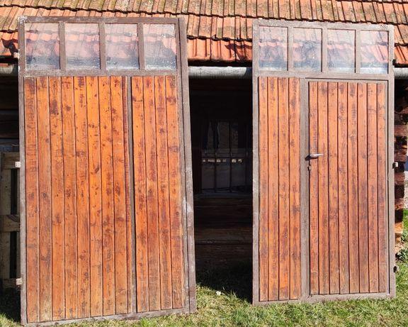 Brama garażowa skrzydłowa