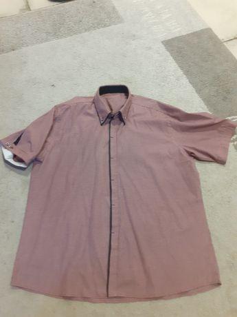 Koszula męska  krata, krótki rękaw