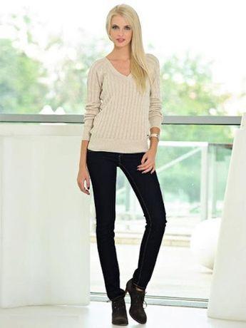 Marks & spencer прямые классические джинсы черного цвета/ uk10