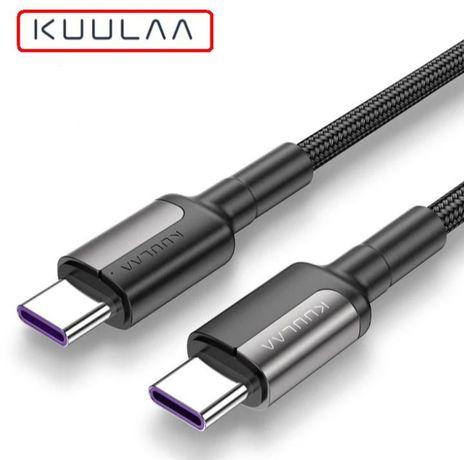 Кабель USB Type-C / USB Type-C, PD, 60 W.