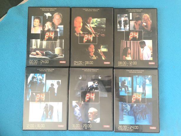 Primeira serie completa - 24 com Kiefer Sutherland