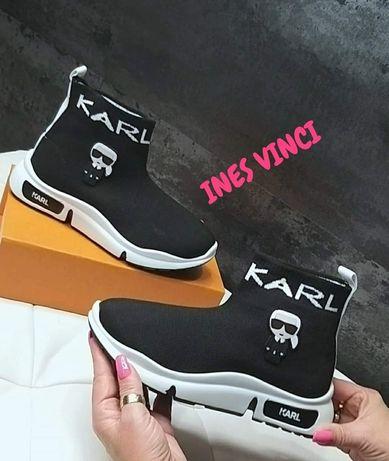 Buty damskie sneakersy elastyczne Karl Lagerfeld 36 do 40