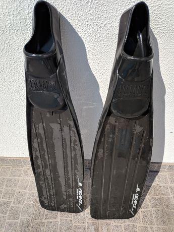 Barbatana Mergulho 60cm lâmina