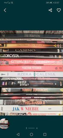 Cała masa dvd i komiksów