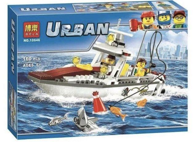 Конструктор Bela urban 10646 Рыболовный катер