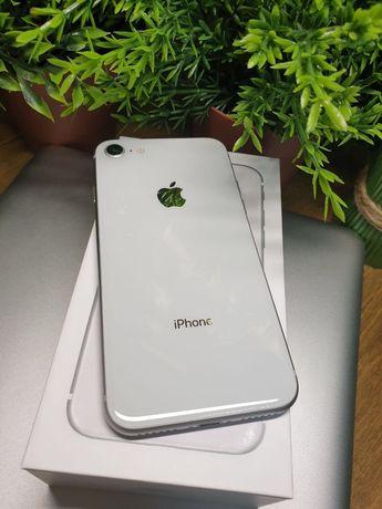 Магазин iPhone 8 64 silver Neverlock Original Гарантия 3мес Идеал