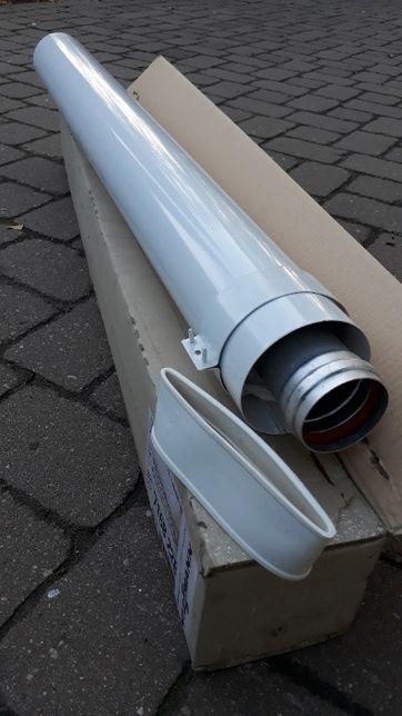 Rura koncentryczna Viessmann 60/100 mm, spaliny, 2 szt.