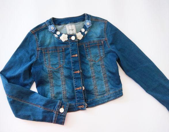 Kurtka katanka jeansowa Mayoral 152