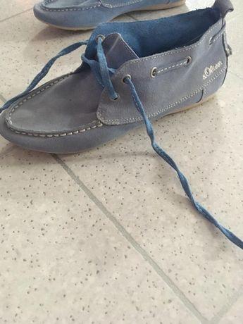 Buty jasnoniebieskie s oliver 37