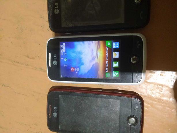 3 телефона Lg GS 290 made in Korea