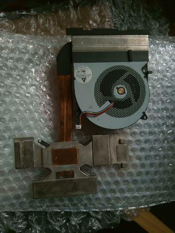Система охлаждения видеокарты ноутбука Asus Rog G75vw
